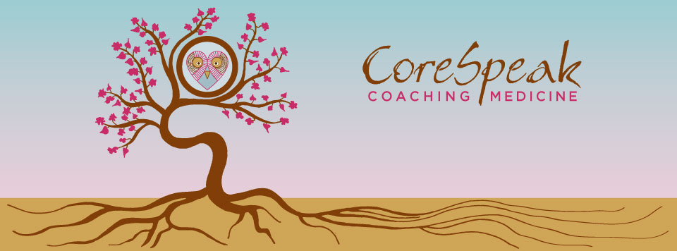 Logo and Website Design: CoreSpeak Coaching