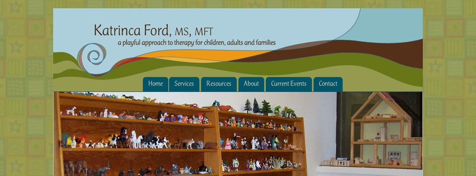 Logo and Website Design: Katrinca Ford, MFT