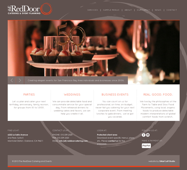 The RedDoor Catering
