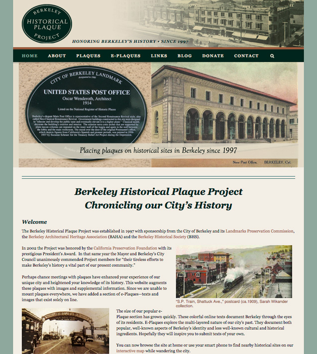 Berkeley Historical Plaque Project